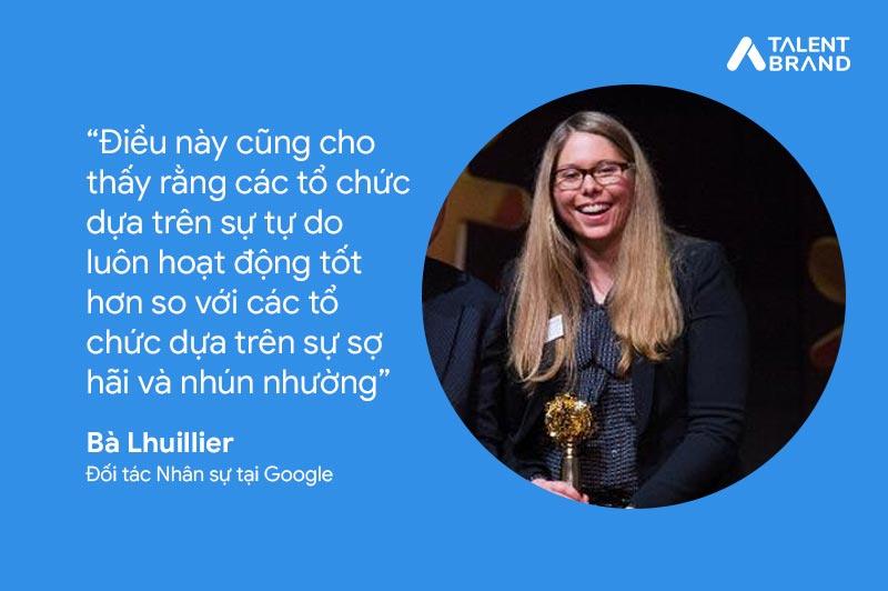 Đối tác nhân sự tại Google