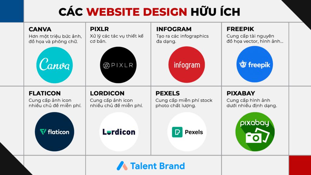 Các website thiết kế hữu ích